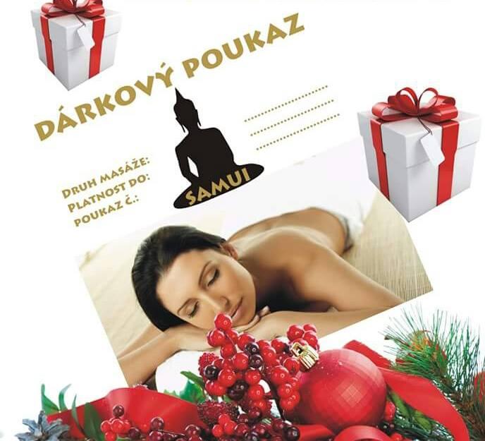 Darujte poukaz na masáž jako vánoční dárek!