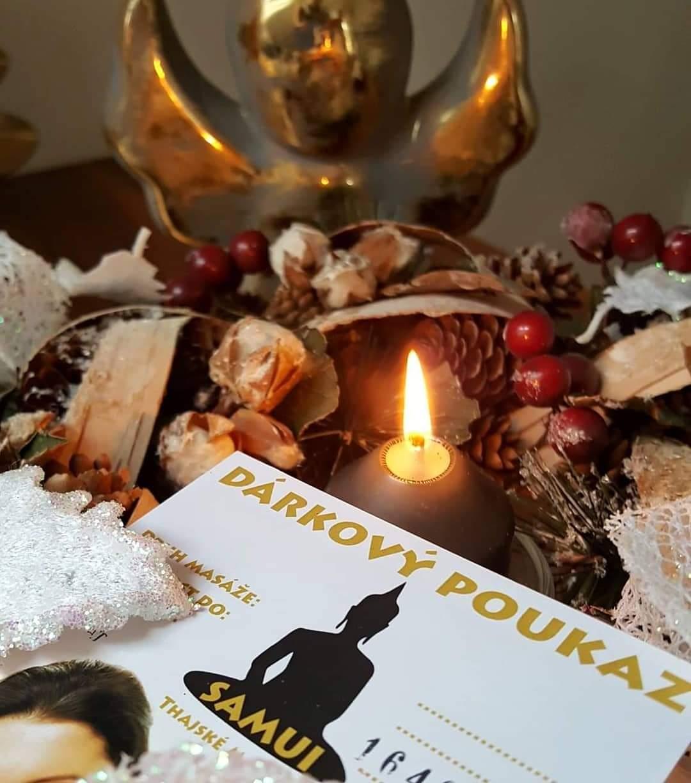 Vánoční poukazy v prodeji VÝDEJNÍM OKÉNKEM